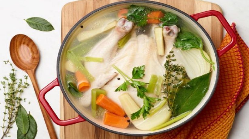 3 healthy recipes with chicken broth