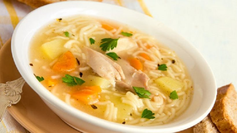 Easy Orange Turkey or Chicken Soup Recipe